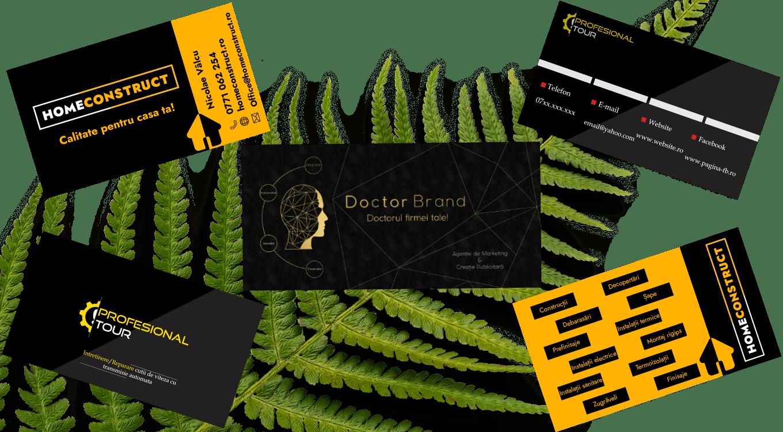Realizare cărți de vizită by Doctor Brand