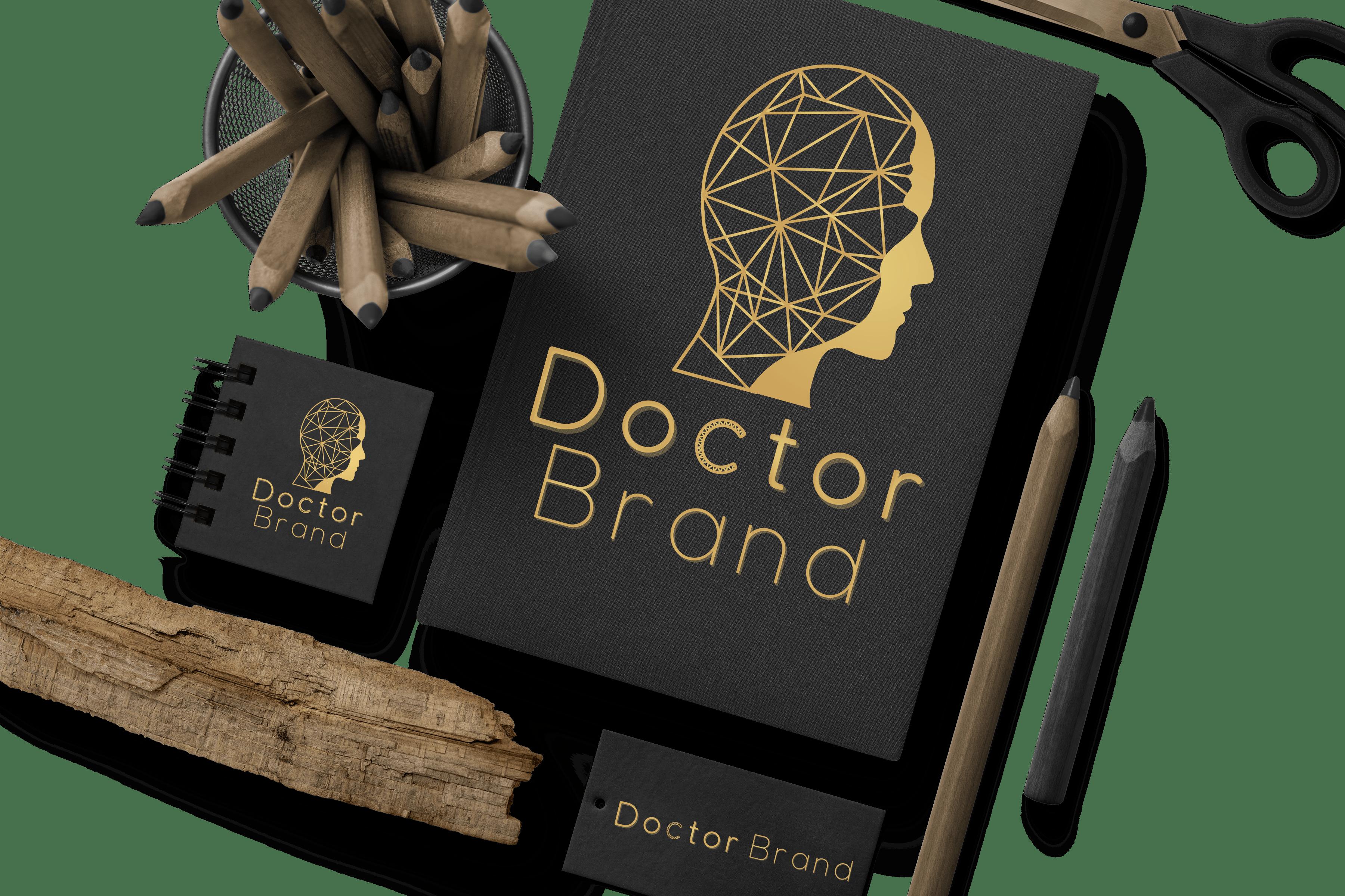 Logo, cărți de vizită, cataloage de prezentare și manuale de identitate vizuală,